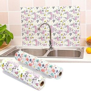 Drawer Table Mat Oil Proof Waterproof Kitchen Organizer Shelf Liner 1Roll