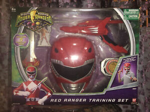 Mighty Morphin Power Rangers 2010 Red Ranger Training Set