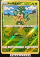 Carte Pokemon FEUILLAJOU 12/147 REVERSE Soleil et Lune 3 SL3 Française NEUF