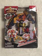 Super Samurai Gigazord Power Rangers Deluxe Megazord 2012 Bandai Zord Builder