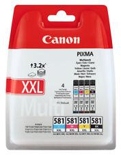 4x Original Canon Patronen Set CLI-581 XXL Pixma TR7550 TR8550 TS6150 TS6151