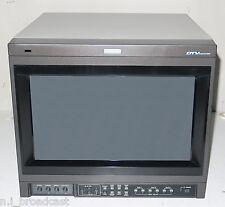 JVC 17 pollici DT-V1710CG (dtv1710cg) del monitor con ingresso HDSDI e RGB opzioni