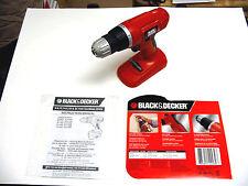 Black Decker 18 V Volt Cordless Drill Driver DELUXE GCO1800 TOOLONLY NEW NOBATT