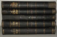 The Great War - Volumes 1,4,6,7,8  Large HB Books, 1914-1917 Illustrated.