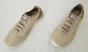 Mens Size 8.5 Khaki Under Armour Slingride Knit Running Shoes 3020326-200