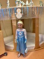 Elsa kostüm Gute Zustand Aus Erste Hand Gr. 116 Mit Ausstattung GutH&M Qualität