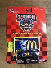Racing Champions 50th Anniv. NASCAR #94 McDonald's Mac Tonight Bill Elliott 1:64