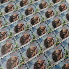 FEUILLE SHEET ANIMAUX HÉRISSON N°3383 x40 2001 NEUF ** MNH