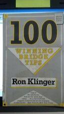 100 Winning Bridge Tips (Master Bridge) By Ron Klinger