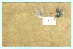 Vintage, A Pair of Doves Bringing a Love Letter to You, Or Sending You LOVE!