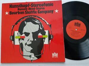 BOURBON SKIFFLE COMPANY - Kunstkopf-Stereofonie 1974 GERMAN Blues Folk Rock G/F