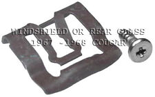 FITS MERCURY COUGAR WINDSHIELD OR REAR GLASS REVEAL CLIPS 20  1967-1968