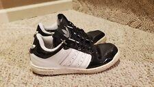 2008 Adidas Forum Low Black Patent Leather Mens Size US 9 RARE