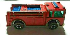 VINTAGE HOT WHEELS REDLINE 1976 - FIRE EATER FIRE ENGINE- RED-MADE IN HONG KONG