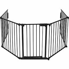 TecTake Hearth Gate Baby Child Fire Safety Barriers Heater Guard Fireplace Guard