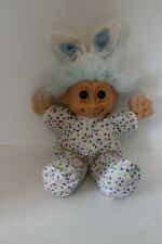 """Adorable 15"""" Russ Troll Doll Bunny Easter Rabbit - Squishy And Soft"""