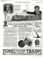 Lionel Electric Trains  -  Lionel Corporation  -  Model Railroad    -  1925