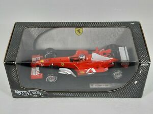 HOT WHEELS  RACING 1 18 F1 FERRARI F2003-GA R. BARRICHELLO #2 MIB NO MINICHAMPS
