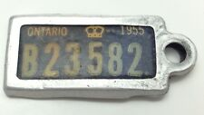 1955 Ontario War Amputations Of Canada License Plate Keychain D102