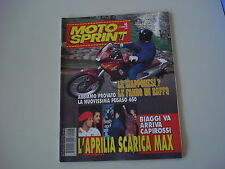 MOTOSPRINT 46/1996 APRILIA PEGASO 650/KAWASAKI EN 500/ER5 ER 5/MBK BOOSTER TRACK