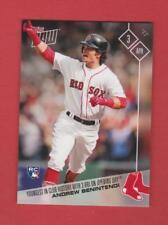 2017 Topps Now Boston Red Sox Andrew Benintendi Card #7