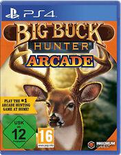 Sony PS4 Playstation 4 Spiel ***** Big Buck Hunter Arcade ***************NEU*NEW