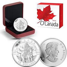 2013 O Canada 1/2 oz Silver $10 -  Royal Canadian Mounted Police