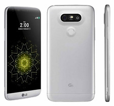 """Débloqué Téléphone 5.3"""" LG G5 H850 32GB Dual 16MP 3G/4G LTE GPS NFC - Argenté"""