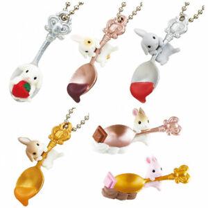 Miniature Dollhouse Rabbit Figure Sweet Girls Blind Box Toy Gashapon 1pc Random