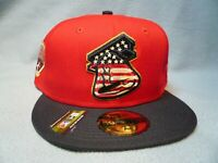 New Era 59fifty Lehigh Valley IronPigs July 4th BRAND NEW Fitted cap hat