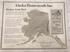 Stake Your Claim on a Little, and I Mean Little, 1 Square Foot Piece of Alaska!