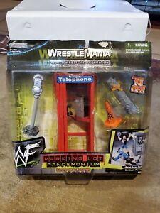 WrestleMania Parking Lot Pandemonium Grapple Gear Accessory Set Jakks Pacific