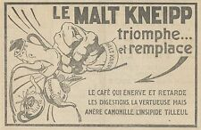 Y5228 Buvez du MALT KNEIPP - Illustrazione - Pubblicità d'epoca - 1915 old ad
