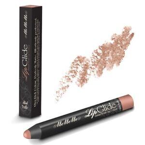 MeMeMe RICH TRUFFLE LIP GLIDE 2 PACK Matt Velvet Chunky Pencil Crayon Stick Nude