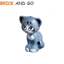 1 x LEGO Friends 29121 Animal Cat (bleu gris, sand blue) Cat Sitting NEUF NEW
