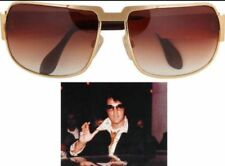NEW AUTHENTIC NEOSTYLE NAUTIC ELVIS PRESLEY SUNGLASSES C. GOLD W/ BROWN GRADIENT