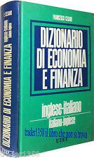 Cesari DIZIONARIO DI ECONOMIA E FINANZA italiano - inglese UTET 1988