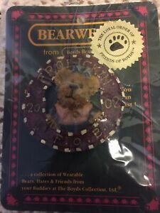 Boyds Bear Molly B. Berriweather 2002 Pin