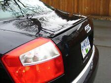 Fibra de carbono Audi A4 S4 B6 Saloon Trasero Arranque Alerón Labio ala sporttrim S line