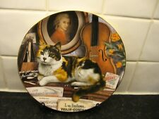 Cats Of Character Plate - The Music Room Cat - Royal Doulton