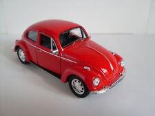 VW ESCARABAJO ROJO, Welly Auto Modelo aprox. 1 :3 5 , NUEVO