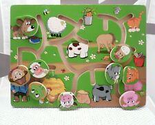 Delta-sport jeu motricité coordination bois animaux dès 3 ans  31 x 23 cm env