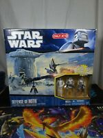Defense Of Hoth Star Wars Clone Wars Target Exclusive Playset Hasbro 2010 Aus