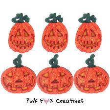GLITTER ZUCCHE dress It Up Novità Craft pulsanti Halloween Jack Sew Cabochon