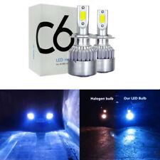 8000K 55W Blue H7 LED Headlight Bulb For Suzuki GSXR 1000 750 600 Hayabusa 2X