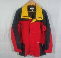 V Zone Sports Rain Coat Wind Jacket Waterproof Active Hiking Mens Size L