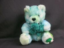 GOOD LUCK LUCKY CLOVER GREEN TEDDY BEAR SOFT PLUSH IRISH ST. PATRICK'S DAY PLUSH