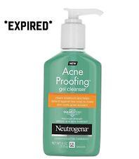 Neutrogena Acne Proofing Salicylic Acid Facial Gel Cleanser-6oz EXP 06/19