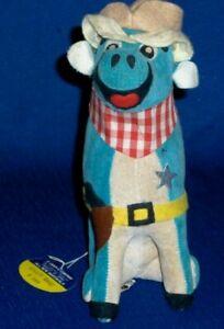 "Dakin ""Wyatt Earp"" Bull #399 Dream Pets Plush Toy c 1957-1960's Stuffed"