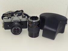 Fujica STX1 35mm Film SLR Camera Vintage 70s SERVICED Working Warranty Lomo